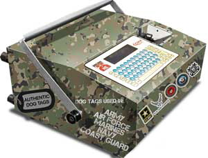 MDT500 HE Military Dog Tag Embossing Machine