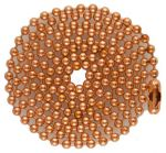 Copper 04.5 inch to 24 inch Ball Chain