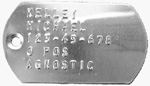Aluminum Dog Tag for DT-101