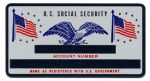 Social Security Plate