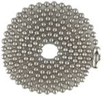SUPPLY DEPOT MILSPEC 04.5 inch to 40 inch Stainless Steel Ball Chain