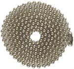 Economy 04.5 in. to 40 inch Nickel-plated Steel Ball Chain